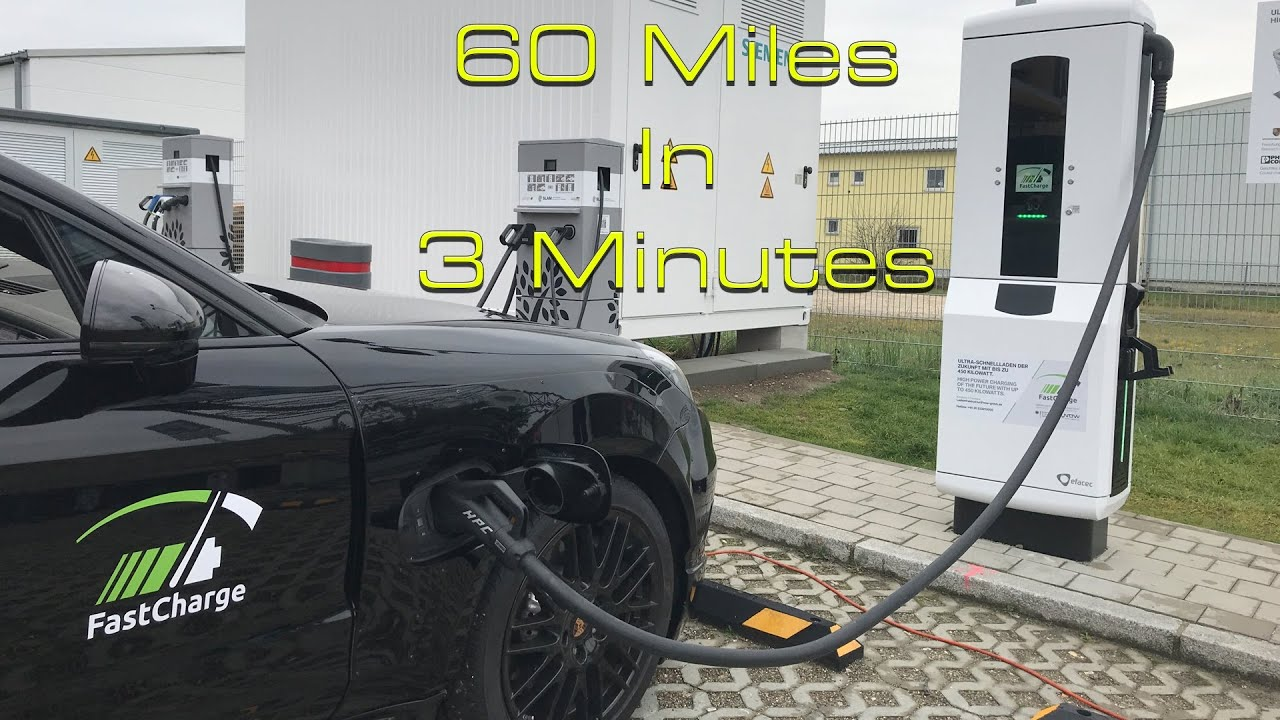 This Revolutionary 450 Kw Super Fast Charging Tech Could Change Electric Cars Forever