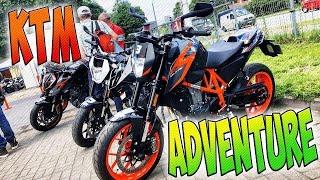 Что выбрать? KTM Duke 690R или KTM Adventure 1290R?