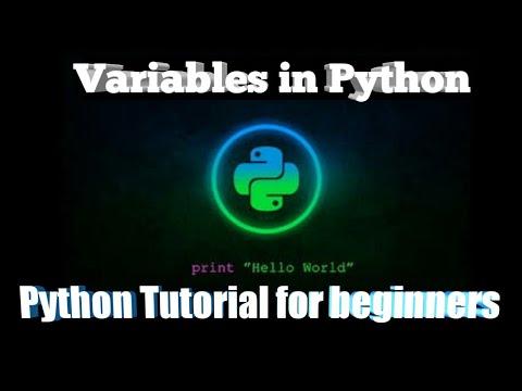 Variables in Python । Bangla Tutorial । Python Tutorial for beginners thumbnail
