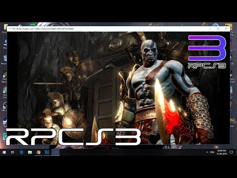 How To Play God of War 3 on PC | RPCS3 v0.0.7-8690 UPDATED!!! 2019