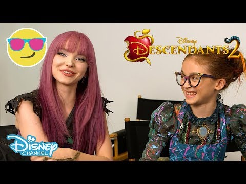 Descendants 2 | Behind the Scenes With Dizzy | Official Disney Channel UK