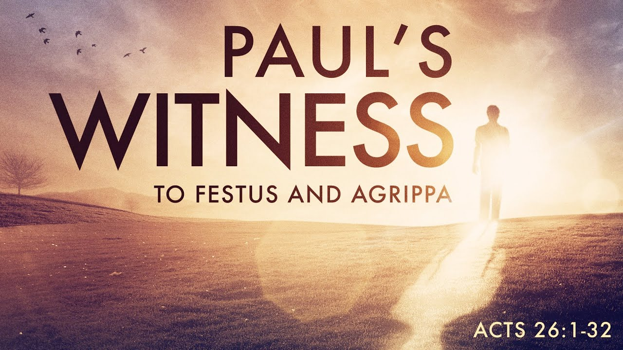 Image result for Paul before Agrippa