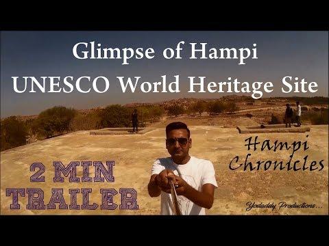 Hampi - UNESCO World Heritage Site - Trailer