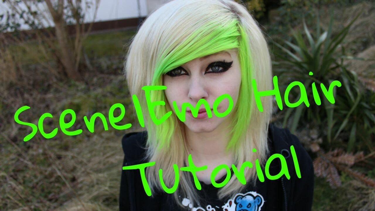 scene emo hair tutorial jassy