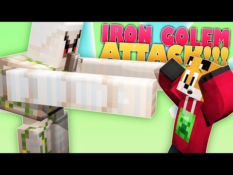 Minecraft Survival | THE IRON GOLEMS HATE ME!!! | Foxy's Survival World [120]