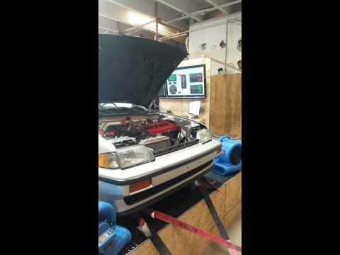 87 Honda Crx Si turbo D16a1