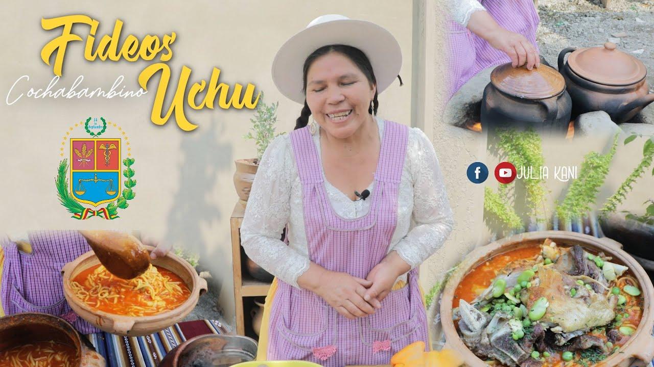 Fideos Uchu Cochabambino - A la leña