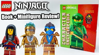 LEGO Ninjago Character Encyclopedia New Edition - Book Overview and Minifigure Review