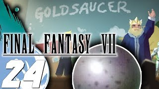 LA PIEDRA ANGULAR Y REGRESO AL GOLD SAUCER│FINAL FANTASY VII│Retraducido y Gameplay al 100%│Parte 24
