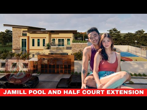 JAMILL HOUSE SWIMMING POOL PROPOSAL & HALF COURT BASKETBALL EXTENSION  | ARKIPEACE