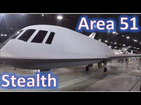 Area 51 Tacit Blue Stealth Demonstrator