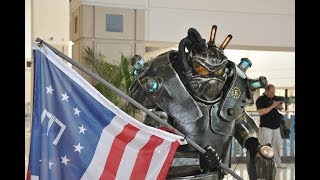 Fallout Cosplay: Enclave Soldier INVADES MegaCon (Tampa, 2017)