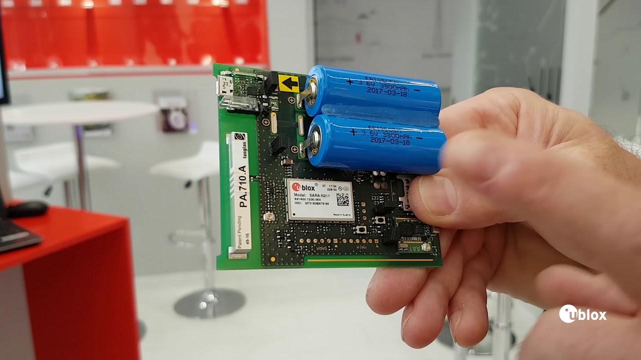 NB-IoT & u-blox SARA-N2 demo with a Kamstrup water meter