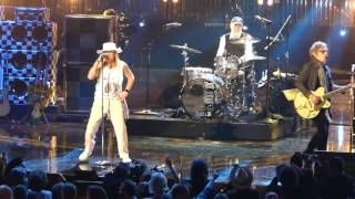 Cheap Trick Performing at The Rock & Roll Hall Of Fame Induction Ceremony