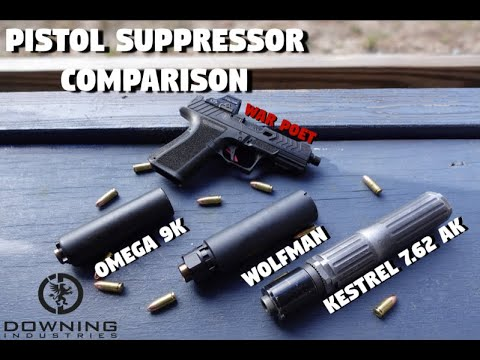 Pistol Suppressor Comparison