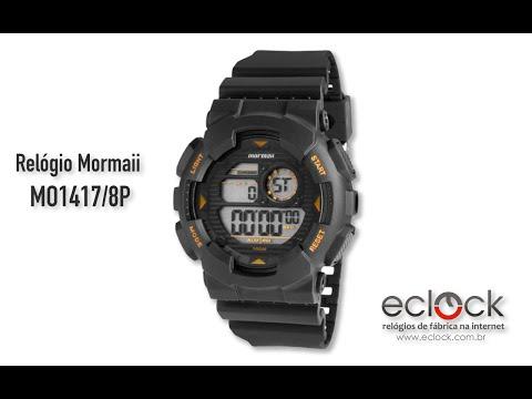8bf6b9001 Relógio Mormaii Masculino MO1417/8P - Eclock - YouTube