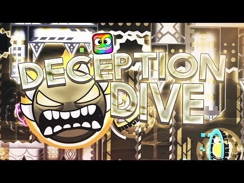 Deception Dive 100% Complete (Extreme Demon) | by Rustam & More | Geometry Dash