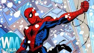 Top 10 STORIE più CRITICATE di SPIDER-MAN!
