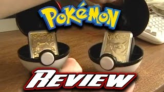 Pokemon Collectible Limited Edition 23K Gold Trading Cards Review