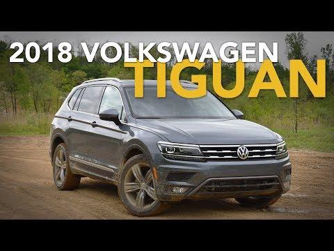 2018 Volkswagen Tiguan Review - First Drive