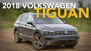 2018 Volkswagen Tiguan Review - First Drive