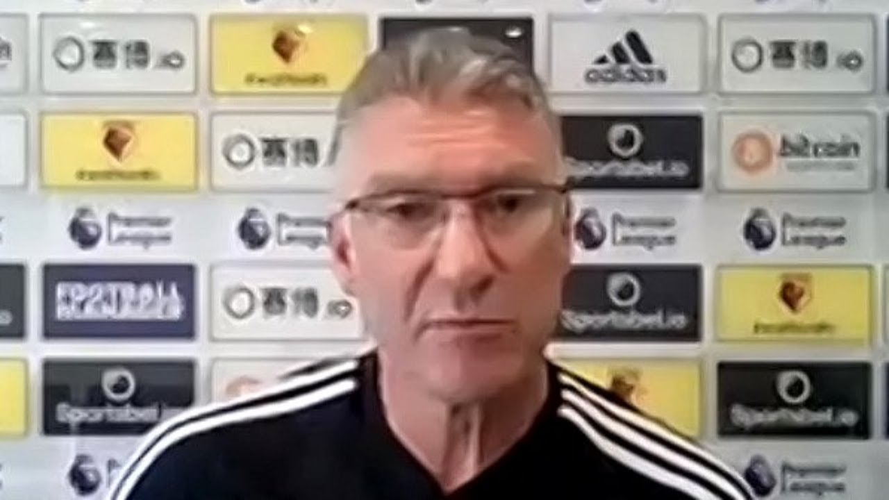 Nigel Pearson on Watford's relegation plight ahead of Newcastle game