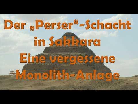 """Der """"Perser""""-Schacht in Sakkara - Eine vergessene Monolith-Anlage"""