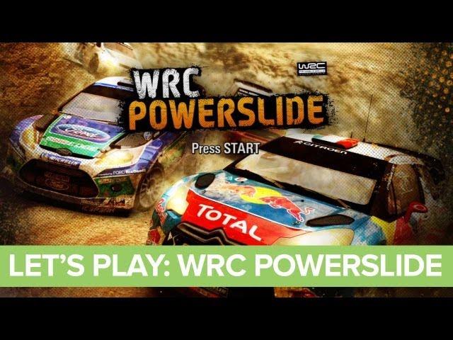 Let's Play: WRC Powerslide XBLA - WRC Powerslide Gameplay