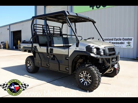 16999 2018 Kawasaki Mule Pro Fxt Eps Ranch Edition Overview And Review