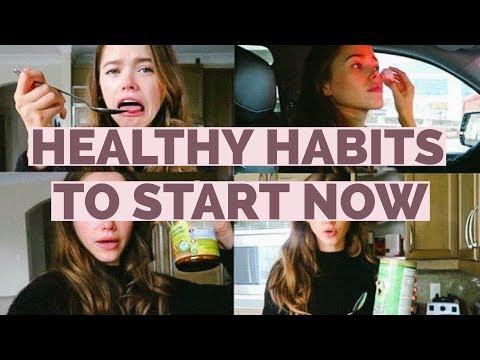 Easy & Healthy Habits to Start Now!   Holistic Nutritionist,  Model, Mommy