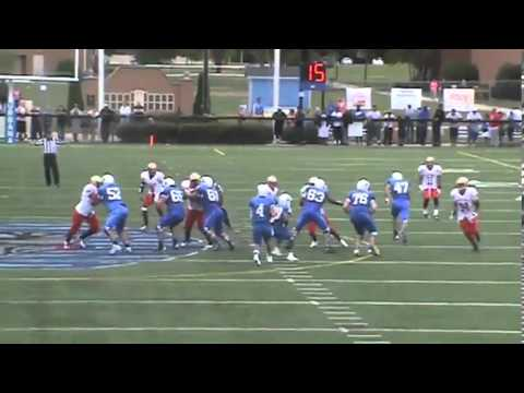 joseph webb urbana university football - YouTube