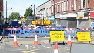 Anger over Wolverhampton roadworks