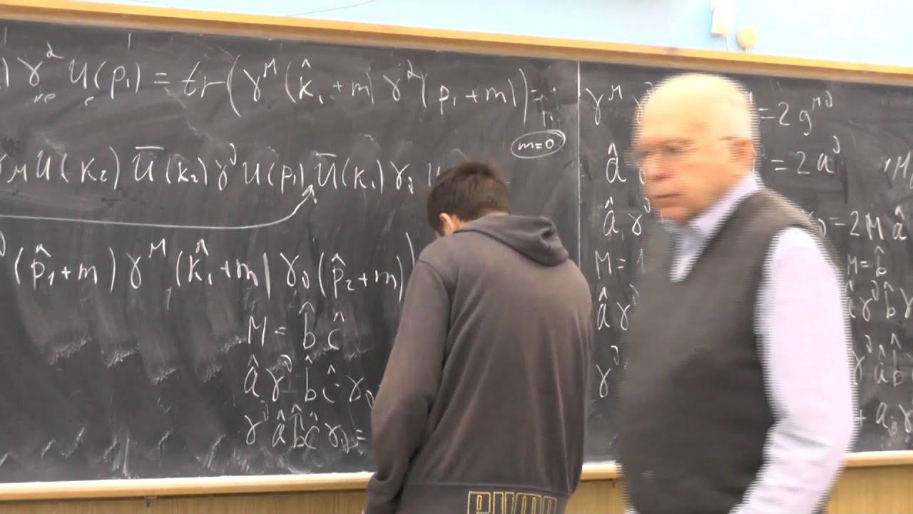 Физика элементарных частиц, Ю.И. Сковпень. Семинар 14