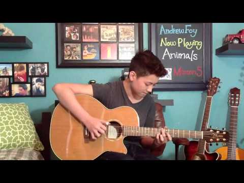 Animals - Maroon 5 - Fingerstyle Guitar Cover