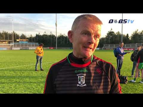 Ballymun Kickhams manager Brendan Hackett speaks to DubsTV after Dublin Senior 1 Final win