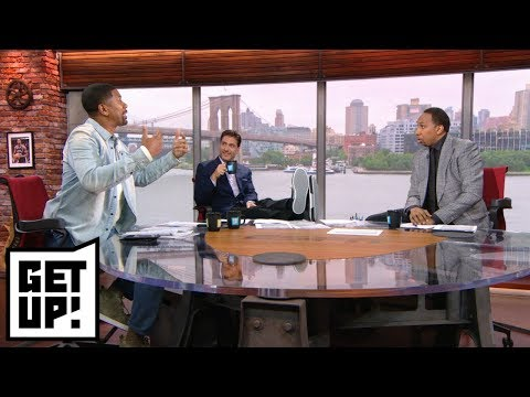 Stephen A., Jalen Rose get into heated debate over Barkley's super teams comments | Get Up! | ESPN