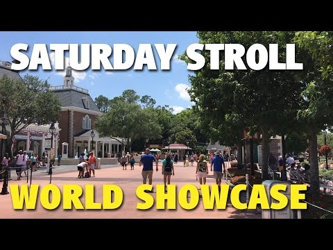Saturday Stroll around World Showcase | Epcot