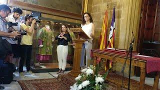 """Cladera trabajará para """"dar respuesta a los problemas"""" de Mallorca y para """"impulsar"""" el Consell"""
