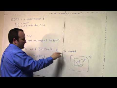 Undergraduate Topology: Feb 10, connected components