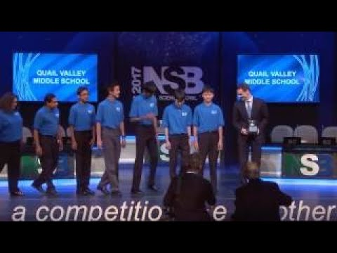 2017 National Science Bowl Final Keynote Address and Awards Ceremony