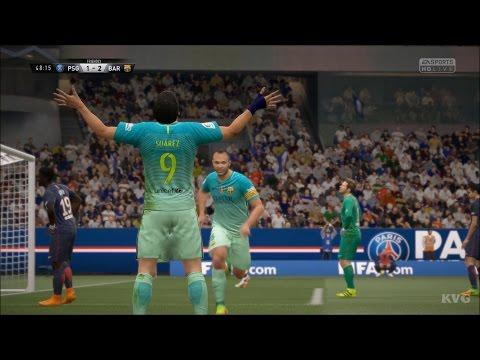 FIFA 17 - UEFA Champions League - PSG vs FC Barcelona   Gameplay (HD) [1080p60FPS]