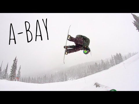 POWDER DAY RIPPING PARK AT A-BASIN EARLY SEASON 2018