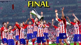Marseille vs Atletico Madrid | Europa League Final 16 May 2018 Gameplay