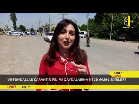 Vətəndaşlar karantin rejimi qaydalarına necə əməl edirlər? -Bakı və Gəncə şəhər