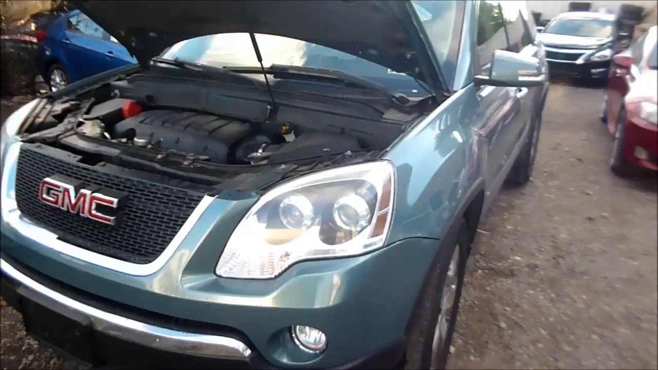 gmc acadia / traverse fuse box locations and obd2 port location