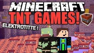 ELEKTROTITTE & Heulsusen ! mit Gomme - Minecraft TNT Games | ungespielt