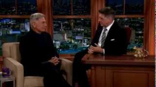 mark harmon on the late late craig ferguson show nov 2013