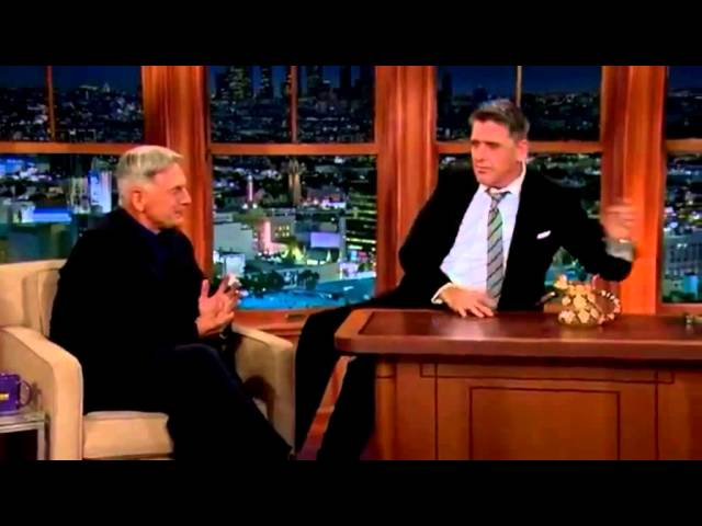Mark Harmon on The Late Late Craig Ferguson Show - Nov 2013