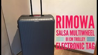 Rimowa Salsa Multiwheel Trolley Electronic Tag 81 cm | UNBOXING | 2016 | HD