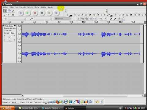 Tutorial:Editor de Audio Audacity Gratis!! y Tutorial: Bajar Musica Gratis